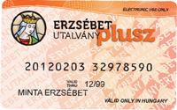 Erzsébet-utalvány plusz kártyát elfogadjuk